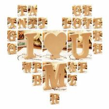 Wooden Alphabet Craft Letter Plaque Wall Hanging Wedding Nursery Party Decor