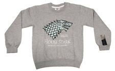 Game Of Thrones HOUSE STARK Winter Is Coming Sweater Sweatshirt 100% Authentic