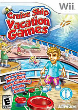 Cruise Ship Vacation Games Nintendo Wii Game NEW Factory Sealed