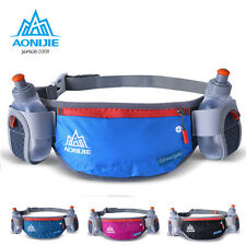 Marathon Hiking Running Jogging Cycling Waist Day Pack Belt Bum Bag Water Bottle
