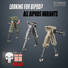 Fab Defense Tactical Bipod Foregrip - ALL BIPODS w/ FREE Punisher Rail Cover CGR
