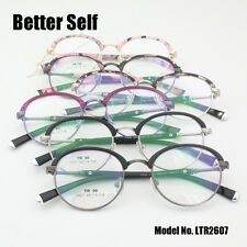 Retro Round Eye Glasses Frames TR90 Quality Spectacles Design Myopia Eyeglasses