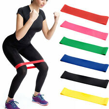 Resistance Band Tube Home Gym Fitness Exercise Workout Heavy Yoga Training