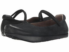 Women's Kalso Earth Shoes Solar Black Vintage Leather Mary Jane Shoe