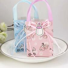 12 Cute Girl Boy Baby Shower Candy Gift Bags Tote Kids Birthday Party Favor
