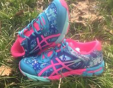 NEW ASICS GEL NOOSA TRI 11 GS RUNNING SHOES TRAINERS TURQUOISE/HOT PINK/ASICS