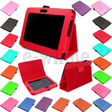 PU Leather Book Stand Folio Case Cover for Amazon Kindle Fire HD 7 inch  WS