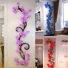 3D Flower Wall Removable Vinyl Quote DIY Sticker Decal Mural Home&Room Decor TB