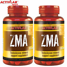 ZMA 90/180 Capsules Recovery Testosterone Booster Mineral Anabolic Sleeping Aid