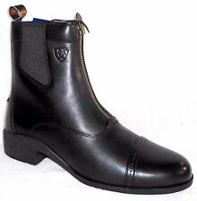 NEW  ARIAT HERITAGE III ZIP PADDOCK MEN'S LEATHER RIDING ANKLE BOOTS EE WIDTH