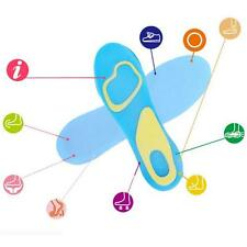 Support Foot Care Orthotic Sport Silicone 1 Pair Pad Arch Massaging Insole Soft