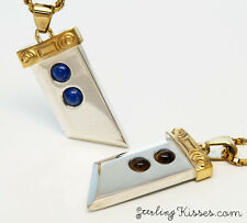 Buster Sword Final Fantasy 7 Pendant Necklace Sterling Silver