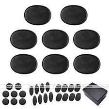 8pc/Set Energy Health Hot Black SPA Rock Basalt Stone Massage Pain Relief Gift