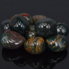 Polished Freefrom Tumbled Natural Green Blood Stone Crystal Healing Energy Wicca