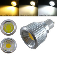 E27 GU10 GU5.3 MR16 7W COB LED Lamp WARM NATURAL Cool WHITE Spotlight Light Bulb