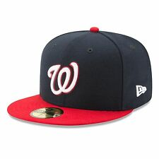 Washington Nationals 2017 59Fifty Authentic Fitted Performance Alternate MLB
