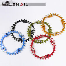 MTB Mountain Bike Chainring 104BCD Aluminum Alloy Narrow Wide 30T-38T Chain ring