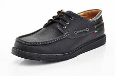 mens slip on casual boat shoes loafers spring summer black size 13 comfort