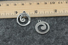 wholesale 15/60pcs Retro 20x18mm Style Tibet silver alloy Charms Pendants