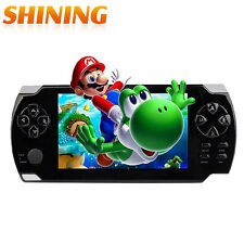 M968 4.3 LCD HD Screen 8GB Memory Handhold Game Console MP4 MP5 Player 9000 Free