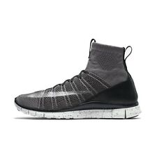 NIKE FREE FLYKNIT MERCURIAL MENS RUNNING TRAINERS GREY SHOES SIZE 8 -12