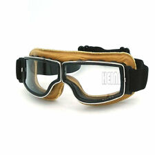 Motocross Aviator Ski Motorcycle Scooter Goggles Retro Helmet goggle for Harley