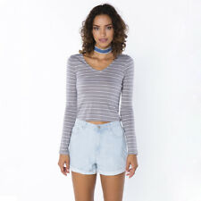 All About Eve Clash Long Sleeve T-Shirt in Grey
