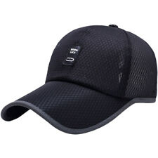 Unisex Summer Cap Mens Womens Golf Baseball Sport Mesh Cap Curved Visor Hats