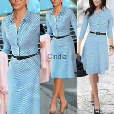 Womens Elegant Career Bodycon Evening Party Wear to Work Office Business Dress