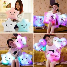 Glow Pillow LED Light Up Soft Cosy Relax Plush Cushion Valentine's Gift Romantic