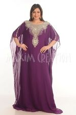 NEW JILBAB FARASHA FOR PARTY WEAR SHORT SLEEVE DRESS BY MAXIM CREATION 4821