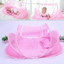 Portable Foldable Mosquito Net Baby Cot Travel Infant Nursery Bassinet Child Bed