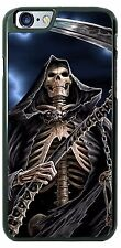 Halloween Grimm Reaper standing Phone Case Cover for iPhone Samsung LG HTC Moto