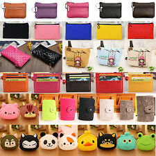 Womens Mini Wallet Coin Purse Handbag Mens Luxury Credit ID Business Card Holder
