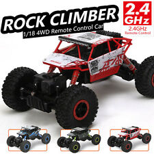 1/18 2.4G Radio RC 4WD Truck Car Remote control Off Road Buggy Monster Climbing