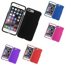 Hard Case Snap-On Rubberized Matte Phone Skin Cover For Apple Phones