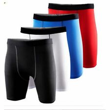 Mens Compression Base Layer Armour Thermal Shorts Under Skins Gear Sports Pants