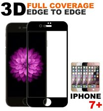 3D Tempered Glass Full Coverage Screen Film Protector For Apple iPhone 7 Plus