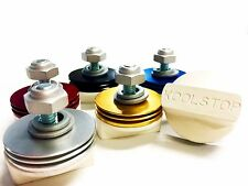 KOOL STOP BRAKE PAD WHITE PADS WITH FINS VAIROUS COLOURS - OLD SCHOOL BMX