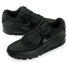 Mens Nike Air Max 90 Essential Trainers 537384-090 Black Running Shoes