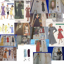U PICK ALL VOGUE SEWING PATTERNS MORE THAN PIC MOD & VINTAGE 1950S 1960S 1970S