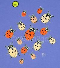 LADYBUGS-Beetles Bugs Insects Science Nature Glow in the Dark Kids T shirt Sm-Lg