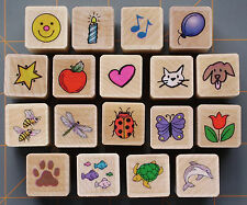 "MINI HERO ARTS ""FUN MIXED COLLECTION"" RUBBER STAMPS  ~ YOU PICK 1 ~TEACHERS ETC"