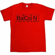 Periodic Table - Chemistry Of Bacon Geek Chemistry Big Bang Theory Mens T-Shirt