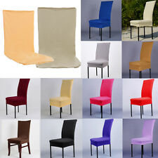 HOT STRETCH SPANDEX DINING ROOM CHAIR COVER SEAT WEDDING RESTAURANT PARTY DECOR