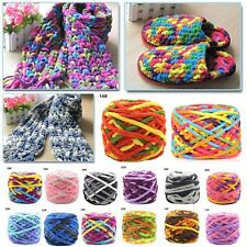 NEW LOTS OF 100G SOFT SKEIN WOOL SCARF KNITTING CHUNKY HAND-WOVEN SCARVE YARN