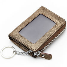 New Mini Small Wallet Women Genuine Leather Zipper Wallets Credit Card  Purse