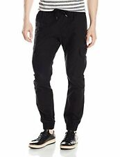 South Pole Mens Jogger Pants Washed Ripstop Fabric With Cargo Pockets
