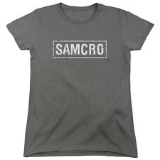 Sons of Anarchy SOA SAMCRO Licensed Women's T-Shirt All Sizes