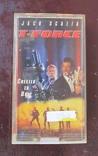 T-Force vintage 90's action/sci-fi vhs movie for sale by owner!!!